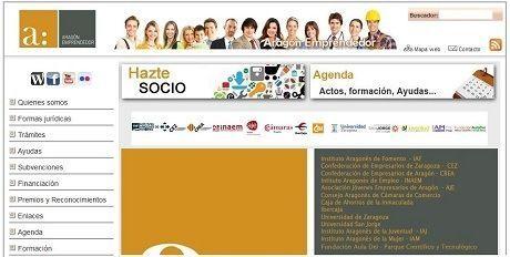 AragonEmprendedor.com la web con toda la información para los emprendores y empresarios de Aragón.