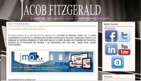 La agencia de comunicación Jacob Fitzgerald apoya las JornadasMarketingOnline.com