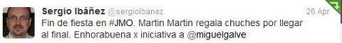 Felicitaciones por las JornadasMarketingOnline Sergio Ibañez