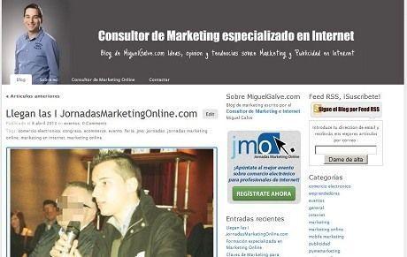 Artículo en el blog de Miguel Galve sobre las Jornadas