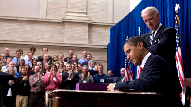 Image result for photo of obama signing daca