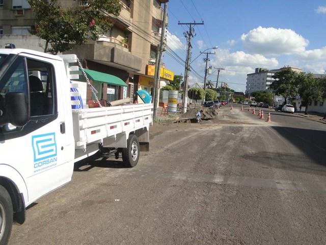Haverá falta de água na terça-feira (28) em Sapiranga