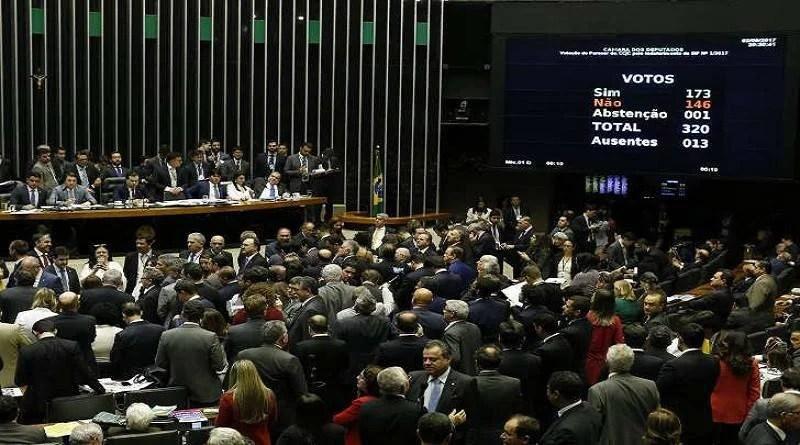 PMDB afasta deputados favoráveis à denúncia contra Temer