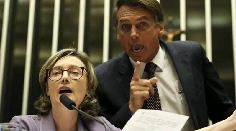 STJ confirma condenação de Bolsonaro por danos morais a Maria do Rosário