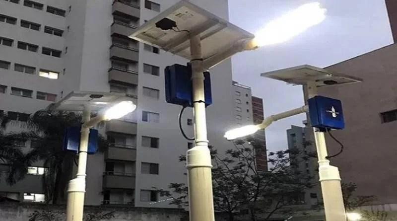 Postes de Campina Grande vão ganhar energia solar