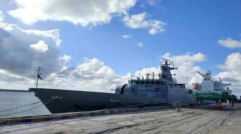 Navio patrulha Macau fica aberto para visitação no fim de semana