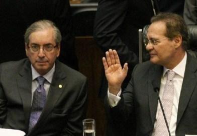 """""""Cunha nomeou todo o governo Temer"""", acusa Renan"""