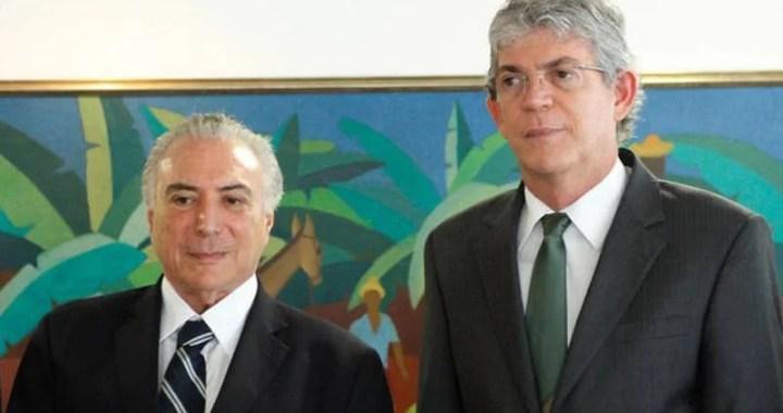 Temer recebe governadores hoje para discutir segurança; Ricardo participa