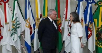 Temer viaja e Cármen Lúcia assume Presidência nesta terça