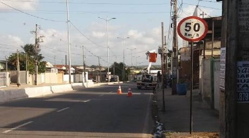 Avenida de João Pessoa recebe novos radares de velocidade