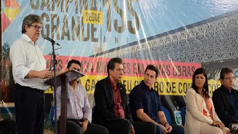 No aniversário de 155 anos de CG, João anuncia mais de R$ 135 milhões em obras na cidade