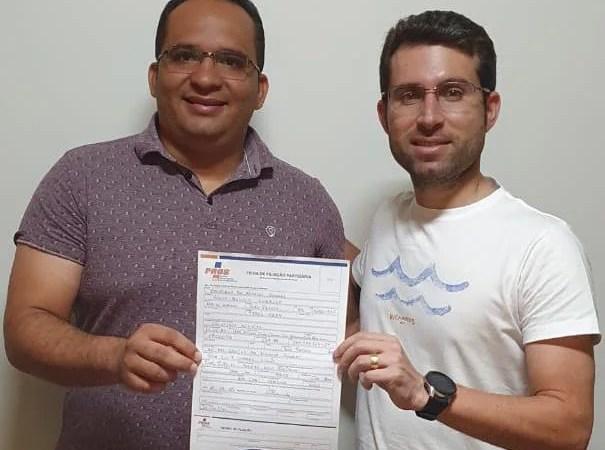Suplente de vereador em João Pessoa, Cristiano Almeida confirma filiação ao PROS para disputar uma vaga na CMJP