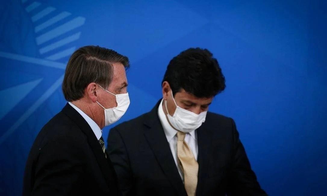 Bolsonaro irá demitir Ministro da Saúde ainda nesta segunda-feira (6)