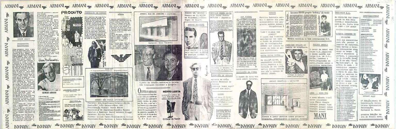 Jornal Armani, um compilado das nossas notícias no Brasil
