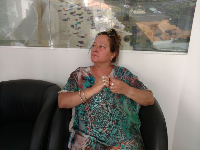 Argentina é esquecida pela família na Praia dos Ingleses