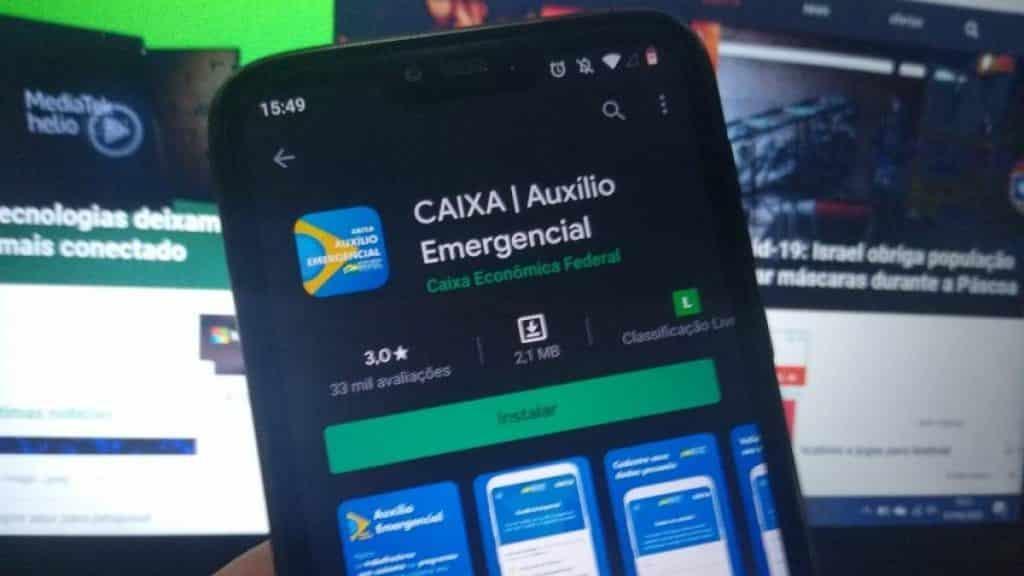 alerta auxílio emergencial