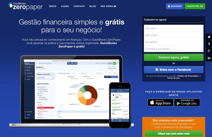 ZeroPaper é solução para gestão financeira descomplicada.