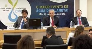 Fórum Mundial da Água espera receber quase 7 mil representantes de 150 países