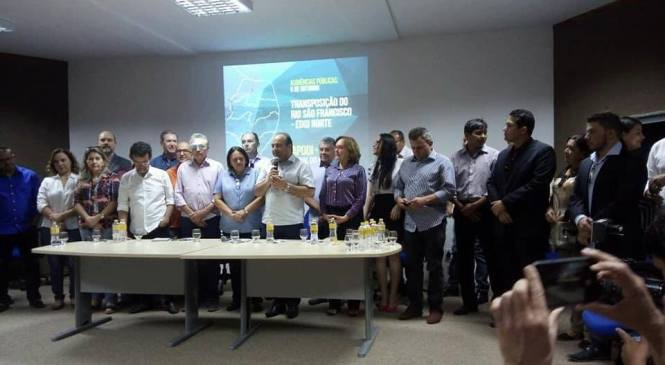 Audiência pelo Projeto de Integração do Rio São Francisco foi um grande passo na luta pela Segurança Hídrica