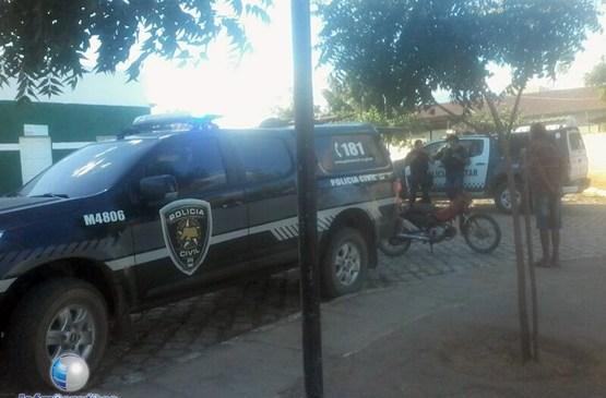 Assaltantes morrem em confronto com a polícia após assalto a lotérica na cidade de Janduís