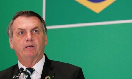 11.03.020 - Brasilia/DF - O presidente Jair Bolsonaro em pronunciamento sobre covid-19. Foto: Alan Santos/PR