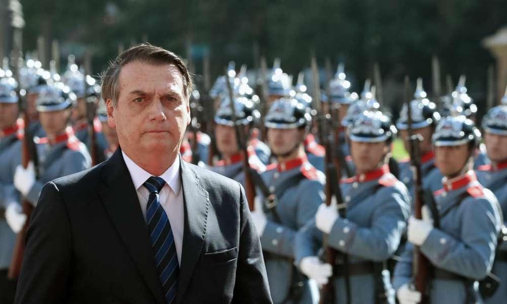 26.08.2019 - Brasília/DF - Jair Bolsonaro participa de cerimônia militar. Foto: Victor Ferreira.