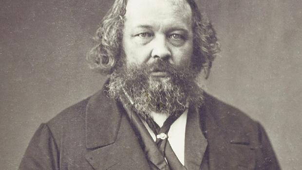 Mikhail Bakunin, um dos principais expoentes do anarquismo e críticos do marxismo em seu caráter autoritário | Foto: Wikimedia Commons
