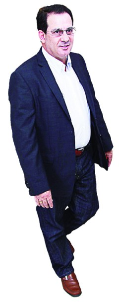 Candidato do PSBao governo, Vanderlan Cardoso: muitas dificuldades no caminho de um obstinado  | Foto: Fernando Leite/Jornal Opção