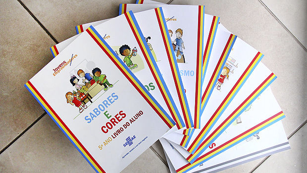 Cartilhas são específicas para cada ano do ensino fundamental e trazem diferentes temáticas e conteúdos sobre empreender