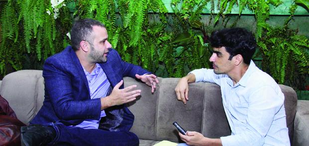"""Publicitário Renato Meirelles ao redator-chefe do Jornal Opção Elder Dias: """"Obrasileiro, no fundo, só quer ser respeitado"""""""
