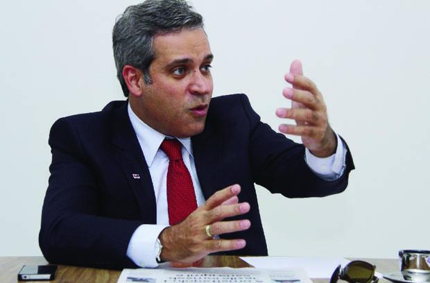 """Henrique Tibúrcio, presidente da OAB Goiás: """"Oadvogado tem conhecimento das políticas de acordo"""" / Fotos: Fernando Leite -Jornal Opção"""
