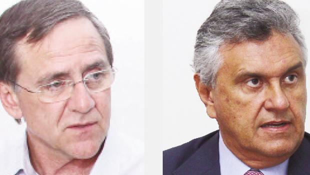 PMDB de Goiás vai disputar o passe político do deputado federal Ronaldo Caiado ou de Antônio Gomide