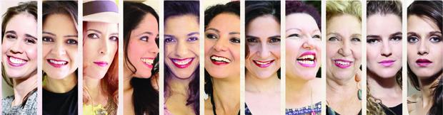 """As principais vozes femininas da música em Goiás estarão no múltiplo show """"Flores de Goyá"""", no sábado, 12 de abril"""