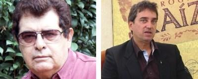 Luiz Augusto Pampinha e Iúri Rincon Godinho: o primeiro está licenciado; o segundo vai editar a coluna Geleia Geral