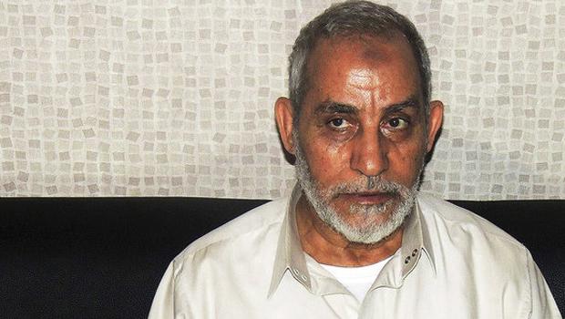 Mohammed Badie, Líder da Irmandade Muçulmana, também está entre os condenados à morte. Ele foi acusado de 'incitar à morte' |  Foto Reprodução do Ministério do Interior/Reuters