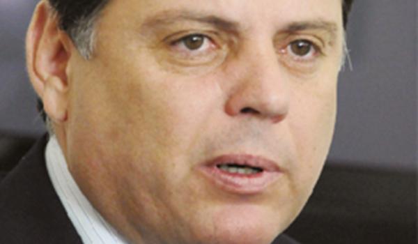 O governador Marconi Perillo quer discurso de mais gestão e menos política
