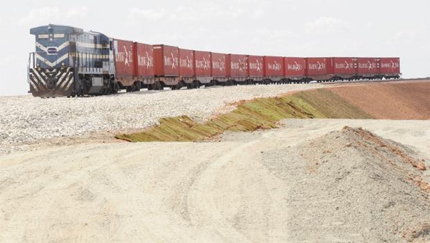 Ferrovia Norte-Sul: apenas o pátio do Porto Seco suportará um volume inicial de 3,5 milhões de toneladas em cargas
