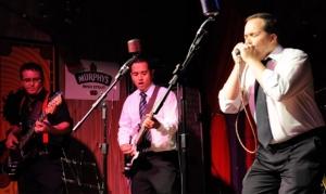 A banda Abluesados foi uma das bandas selecionadas para participar das apresentações do Fica