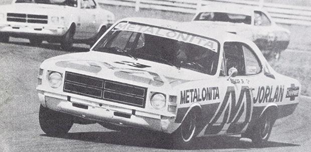 Ogoiano Alencar Júnior na ponta em prova que venceria no Autódromo de Goiânia, em 1979 | Foto: Blog da Graxa