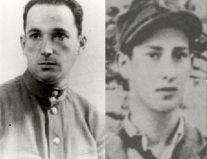 O soviético Alexander Pechersky e o polonês Stanislaw Szmajzner (que morou em Goiás): participaram da revolta do campo de extermínio de Sobibór, na Polônia, em 1943