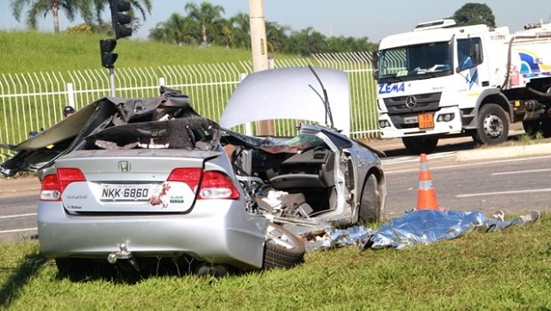 Homem morre após acidente com caminhão na Perimetral Norte