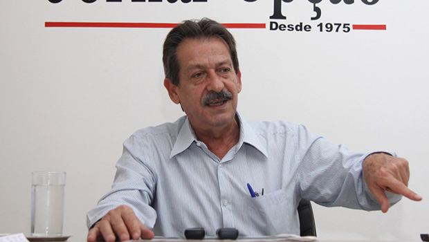 Presidente do PSDB goiano, Paulo de Jesus | Foto: Fernando Leite/Jornal Opção