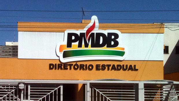 Sede do diretório do PMDB estadual, localizada no Setor Aeroporto