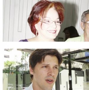 Iris Araújo e Daniel Vilela: guerra para ser o mais bem votado pra deputado | Fotos: Fernando Leite/Jornal Opção