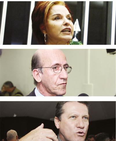Iris Araújo, Rubens Otoni e Giuseppe Vecci: favoritíssimos | Fotos: Fotos: Fernando Leite/Jornal Opção