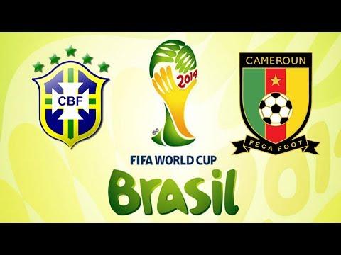 Brasil 4 x 1 Camarões: a goleada placebo