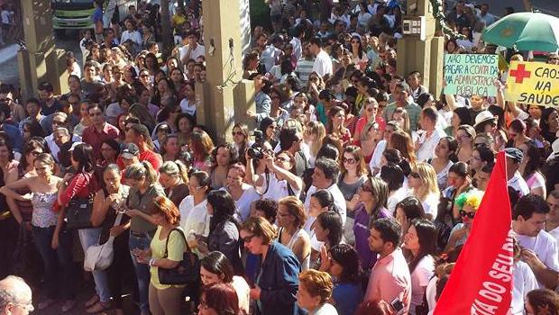 Trabalhadores municipais da Saúde de Goiânia deflagram greve
