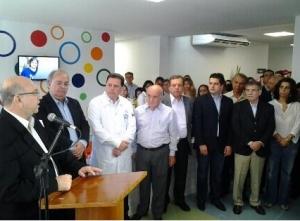 """Secretário de Saúde de Goiás, Halim Girade: """"""""O HMI tem um objetivo muito nobre: trazer novas crianças ao mundo"""""""