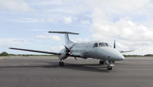 O pátio e as duas pistas do aeroporto de Caravelas foram totalmente recuperados pela Engenharia do Exército