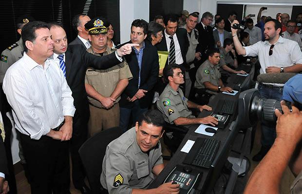 Programa Olho Amigo: ação do governo estadual promete trazer mais segurança às ruas de Goiânia